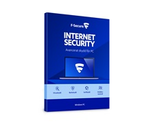 F-Secure Internet Security 3 år - CERTIFIKAT