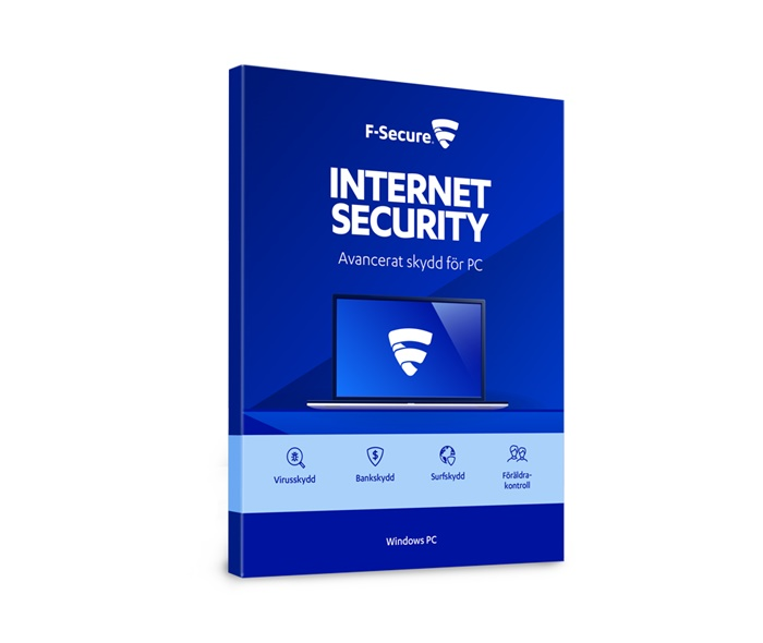 F-Secure F-Secure Internet Security 1 år - CERTIFIKAT