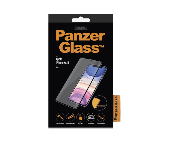 PanzerGlass PanzerGlass Apple iPhone XR/11, Black